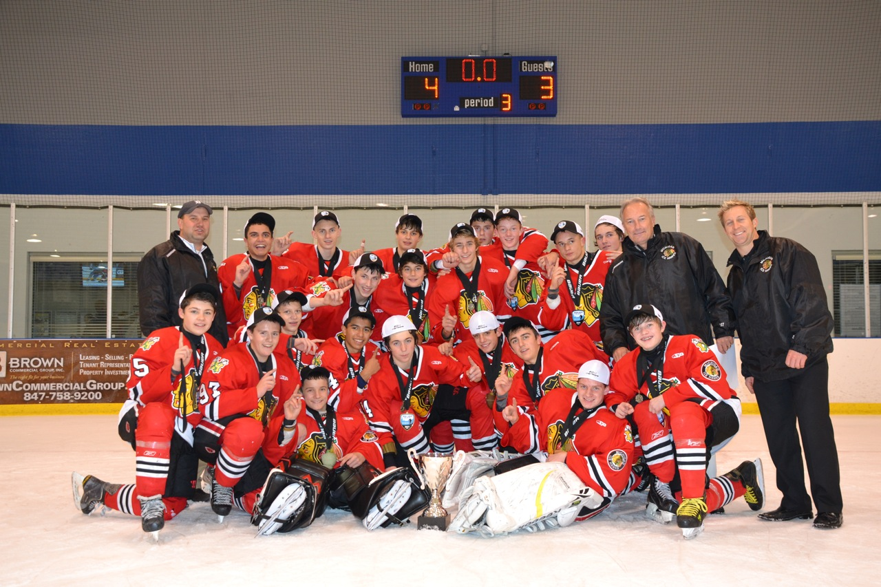 97 Michigan Ice Hawks Win Bauer Invitational