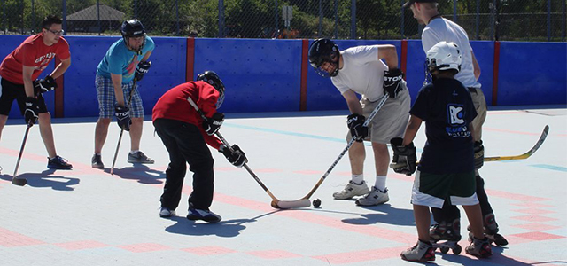 Special Needs Street Hockey League in Rochester Hills offers