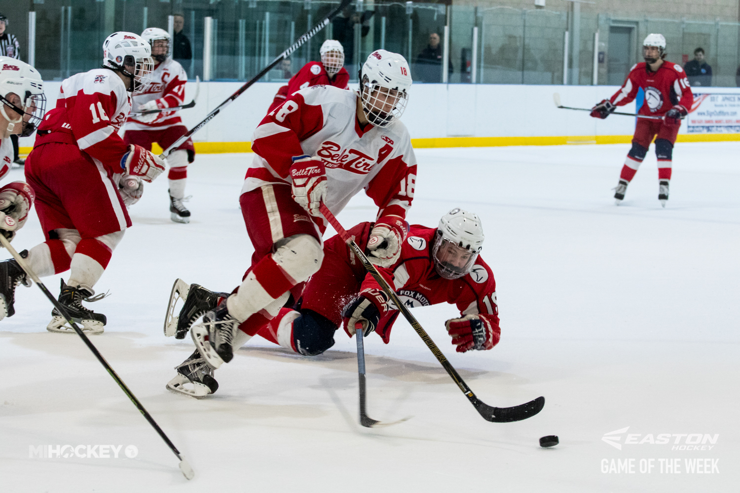 Photos The Easton Hockey Game Of The Week Belle Tire Vs