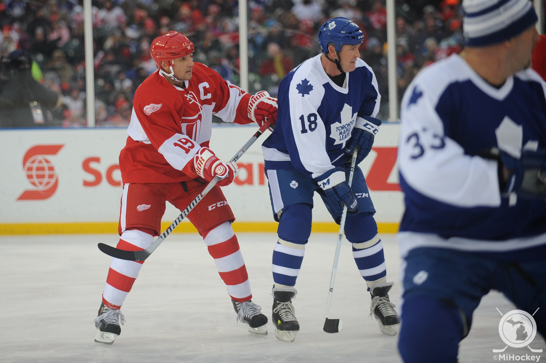 Red Wings and Maple Leafs alumni to get rematch at Centennial ... fcc4be4ac