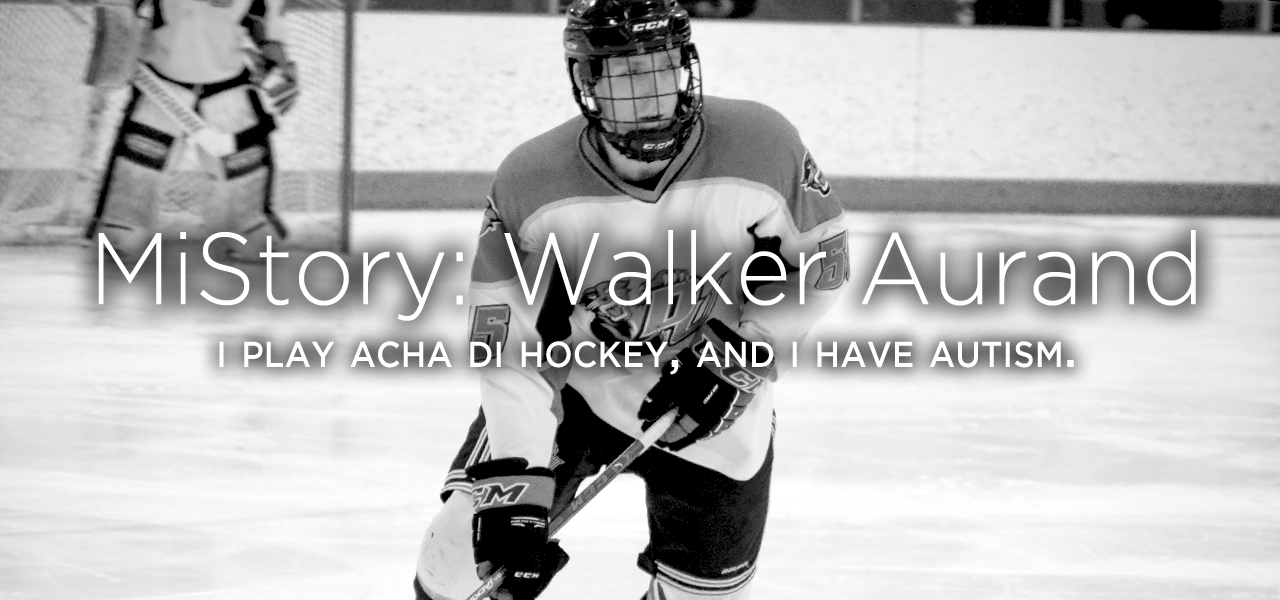 MiStory: I play ACHA D1 hockey, and I have autism (by Walker Aurand)