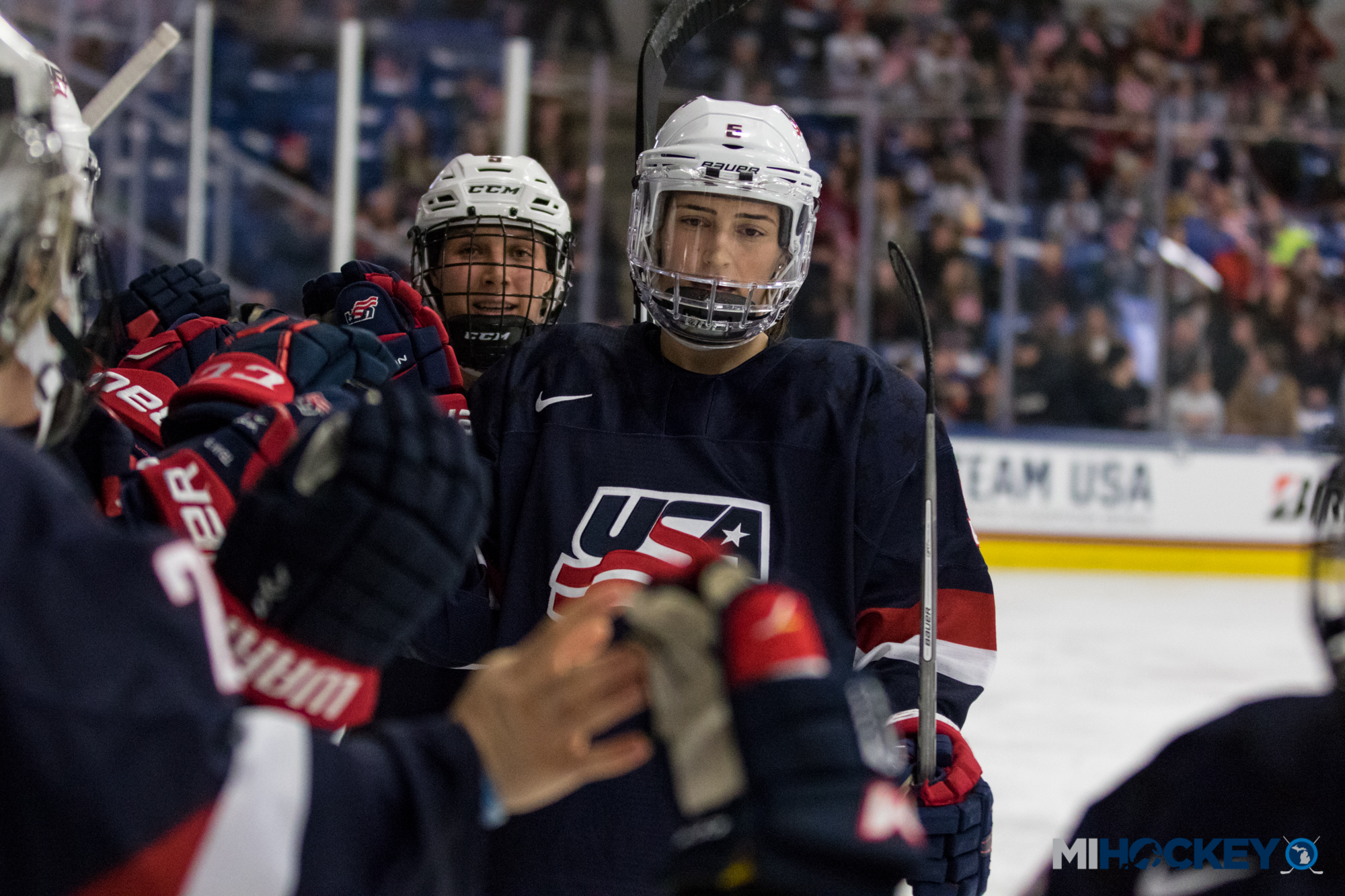 USA Hockey announces roster for 2018 U.S. Women's National Team Evaluation Camp