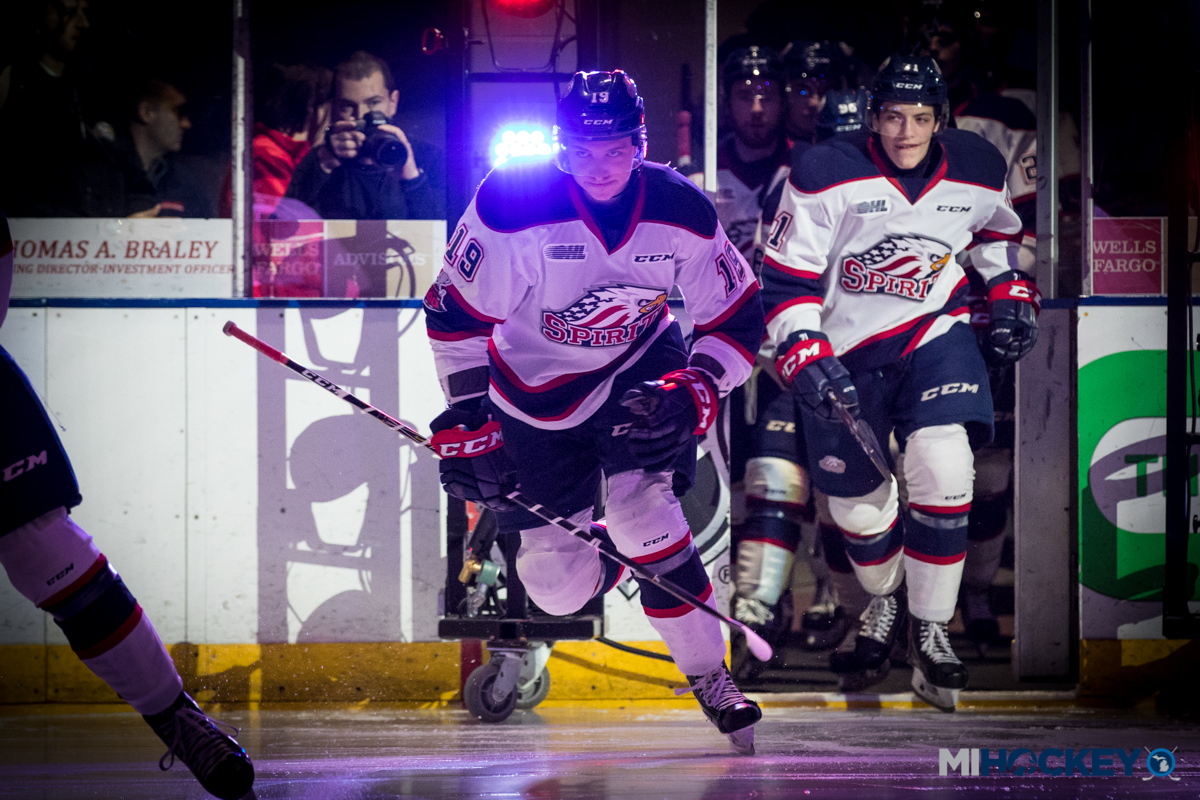 Michigan names receive OHL rookie recognition