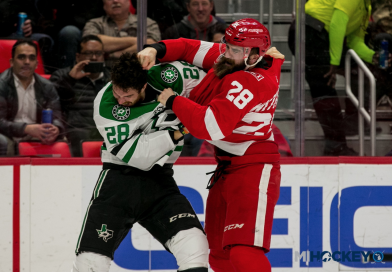 PHOTOS: Red Wings welcome the Dallas Stars to Detroit