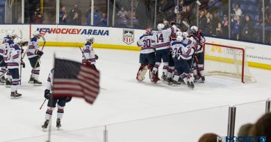 PHOTOS/VIDEO: Team USA scores four in third to stun Russia at U18 Five Nations