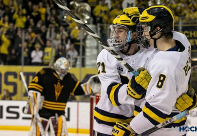 PHOTOS: Wolverines welcome Arizona State to Yost
