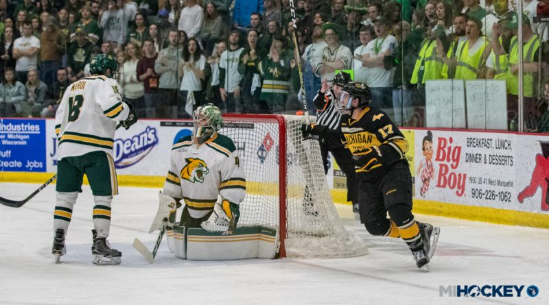 Michigan Tech wins WCHA title over rival Northern Michigan (with photos) 2ece5e704112e