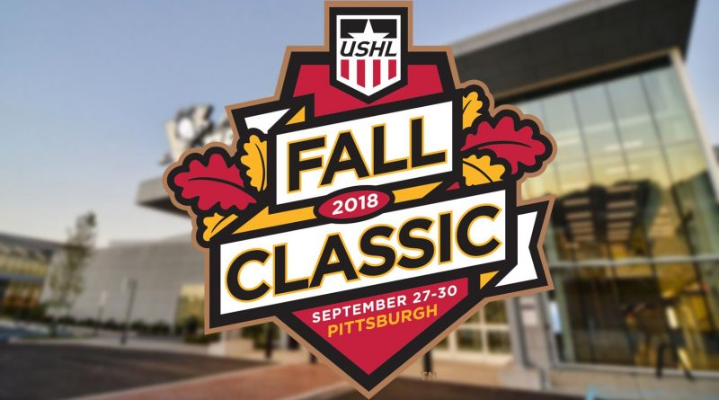 2018 USHL Fall Classic set for Sept  27-30 in Pittsburgh