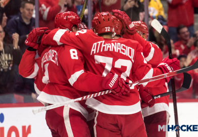 Red Wings announce 2018 preseason schedule