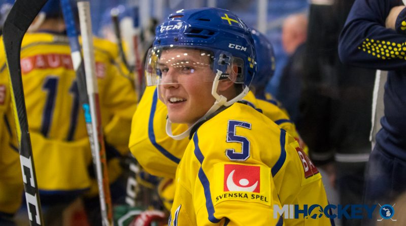 Red Wings sign prospect Gustav Lindstrom
