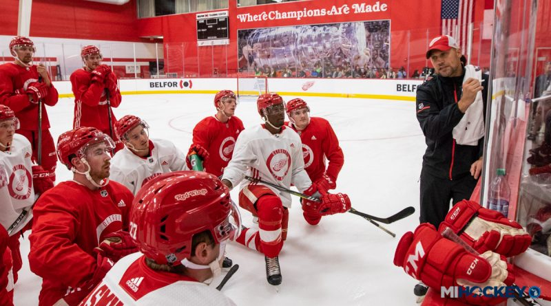 super popular 35926 befc2 PHOTOS: Day 1 of the Detroit Red Wings' 2018 Development Camp