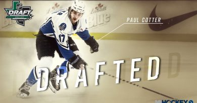2018 Draft: Paul Cotter selected by Las Vegas Golden Knights