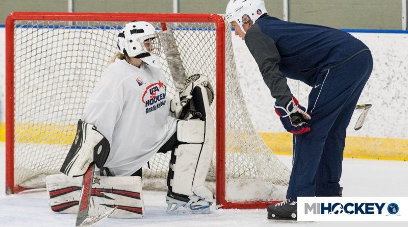Michigan Goaltenders Invited To Participate In Usa Hockey