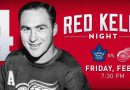 Red Wings to officially retire Red Kelly's No. 4 in February