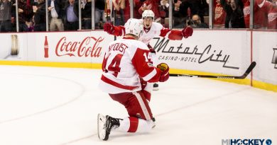 Red Wings win first game of the 2018-19 season