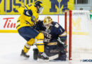 PHOTOS: St. Cyr leads Notre Dame to victory over Michigan