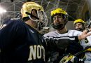PHOTOS: Wolverines win Night 1 of rematch weekend with No. 6 Notre Dame