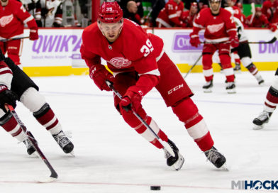 Red Wings ink Mantha to four-year deal