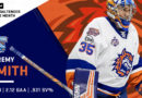 Jeremy Smith named AHL Goaltender of the Month