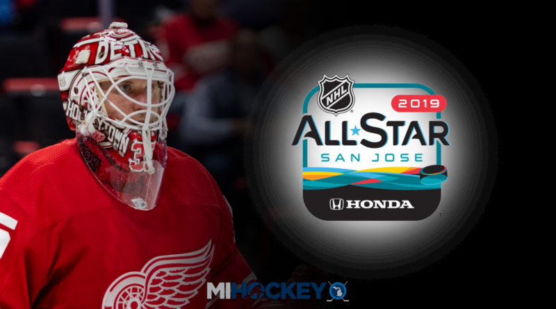 Jimmy Howard to represent Red Wings at 2019 NHL All-Star Game 6a130dcaa