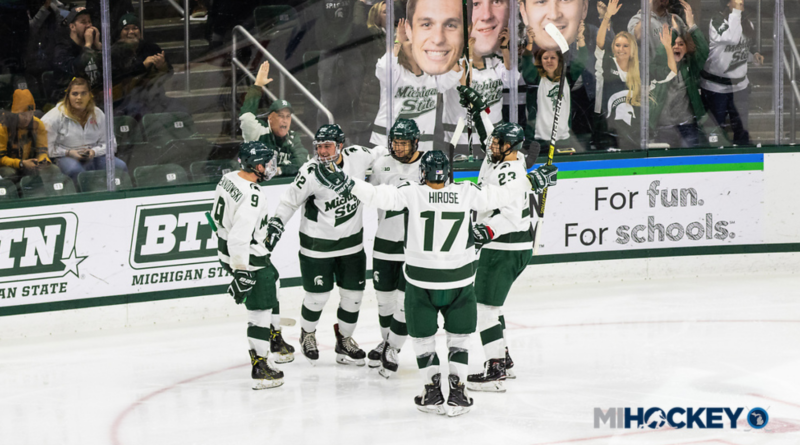 Michigan State records first sweep of Minnesota since 1976