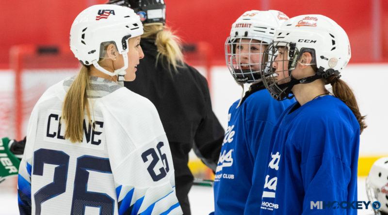 U.S. Women's National Team hosts clinic at BELFOR Training Center