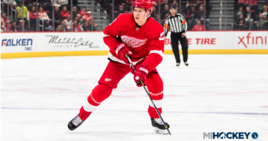 Red Wings assign Cholowski, Frk to Grand Rapids