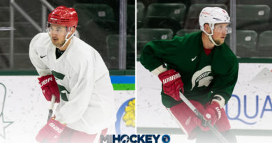 Red Wings' Abdelkader, Hirose return to East Lansing for MSU Pro Camp