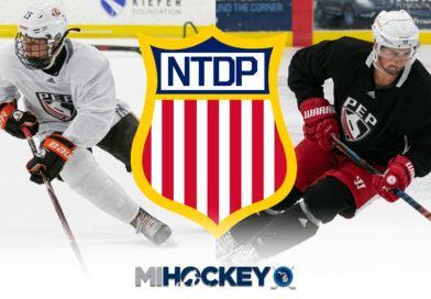 NTDP's past, present and future show up in Plymouth for preseason training camp