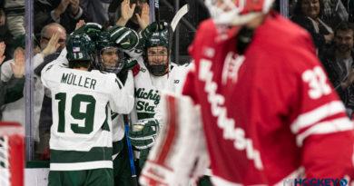 PHOTOS: Wisconsin vs. Michigan State