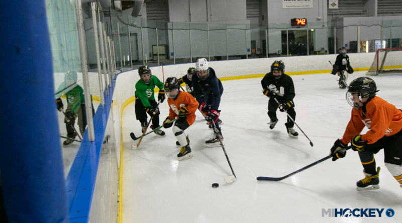 PHOTOS: NTDP's Murchison, Wilmer surprise youth players in Royal Oak