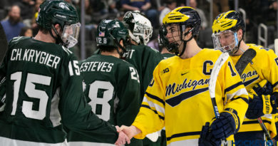 PHOTOS: 2020 'Duel in the D' game between Michigan and Michigan State