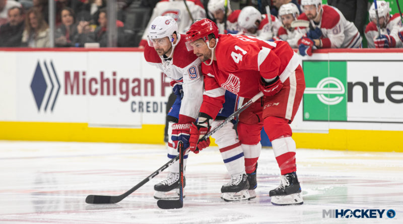 Red Wings accomplish franchise first in four-game season sweep of Montreal
