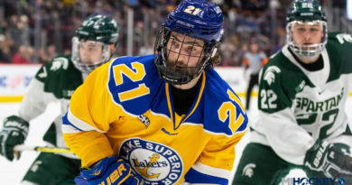 Griffins sign Livonia native Max Humitz, one other