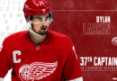 Dylan Larkin named 37th captain in Detroit Red Wings franchise history