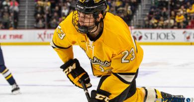 Houghton's own Raymond Brice named captain of Michigan Tech