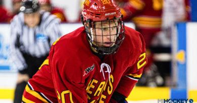 Gerald Mayhew scores in NHL debut