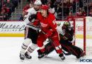PHOTOS: Red Wings top Blackhawks at LCA in Original Six clash