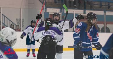 Midland Hornets win 2020 MAHA Girls' 14U Tier 3 state championship.
