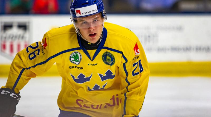 Red Wings sign top prospect Jonatan Berggren to entry-level deal